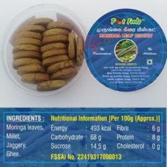 Moringa leaf Biscuits 170g From Pot foods
