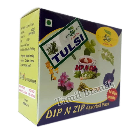 Herbal Dip extracts Tulsi Best Alternative for Tea & Coffee Dip N Zip