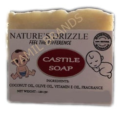 Home Made Castle Soap 4 units Nature's Drizzle