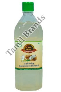 100% Natural Marachekku Coconut Oil 1 ltr Black Gold Edible Oils