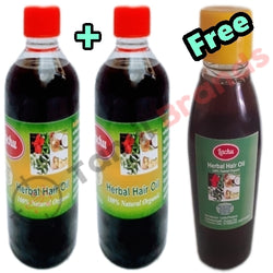 Buy 250ml of 2 Home made hair oil and get 125ml free | Lachu Products