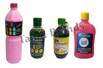 Double Quality of Home Cleaning Products Sri Prithiyangara Marketing - Tamil Brands