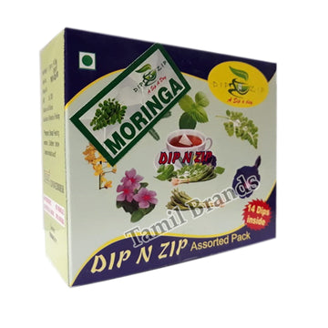 Herbal Dip extracts Moringa Best Alternative for Tea & Coffee Dip N Zip