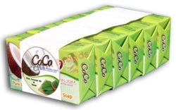 Organic Pure Home Made Soap 9 pieces (Coconut Oil with Neem) from CoCo Brands