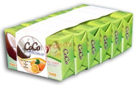 100% Organic Pure Home Made Soap 6 Pieces Coconut Oil Orange CoCo Brands - Tamil Brands