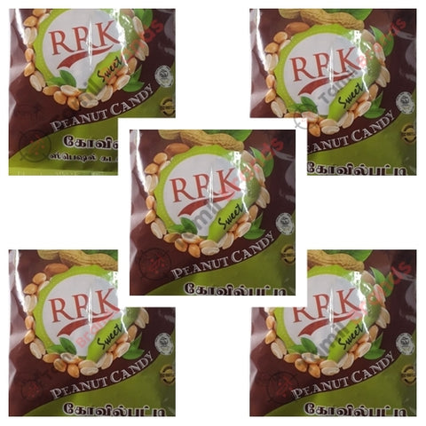 Peanut Candy 1 kg Combo Pack 3 (From RRK Sweets co)