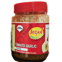 Tomato Garlic Pickle 400g from Jegan Foods