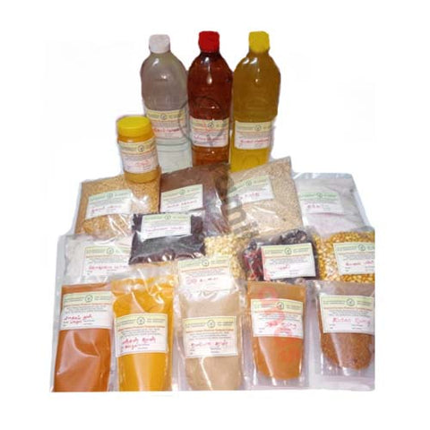 30 important grocery products (From Kazhani Farmers producers company Ltd) / Free Delivery