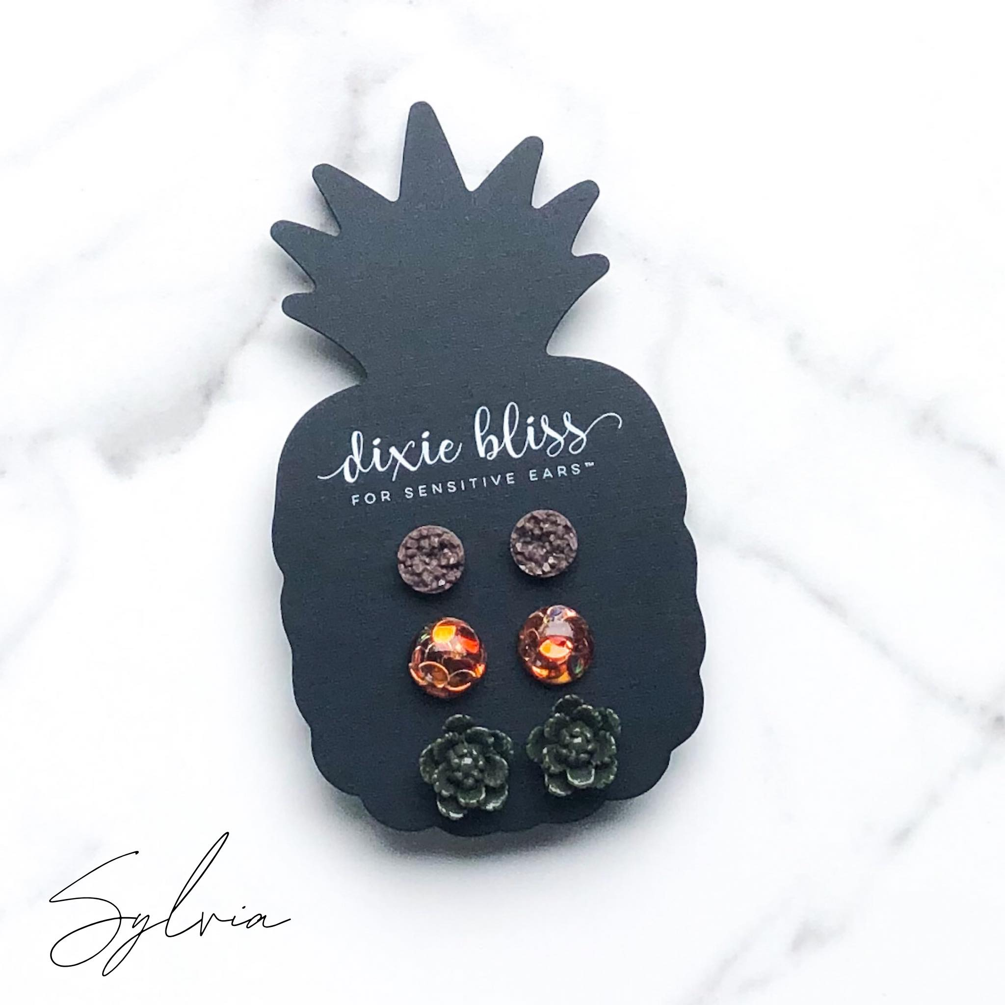 Sylvia | Earrings for Sensitive Ears - Sandy Bums Boutique