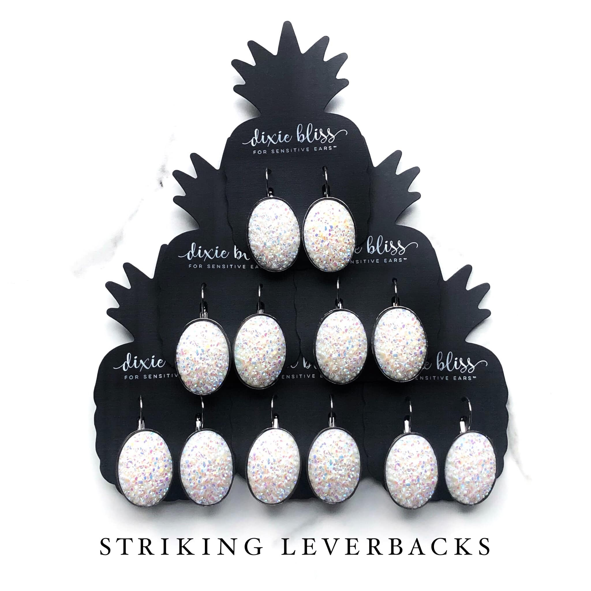 Striking Leverbacks for Sensitive Ears - Sandy Bums Boutique