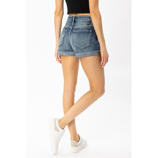 Cori | High Waisted Shorts - Sandy Bums Boutique