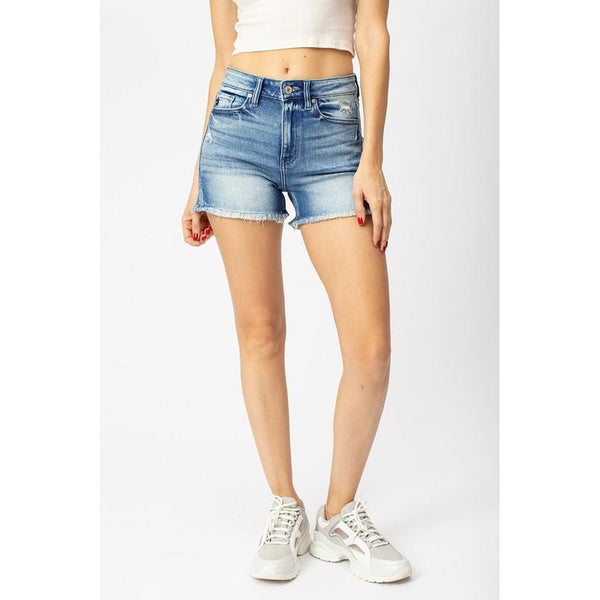 Kari | High Waisted Shorts - Sandy Bums Boutique
