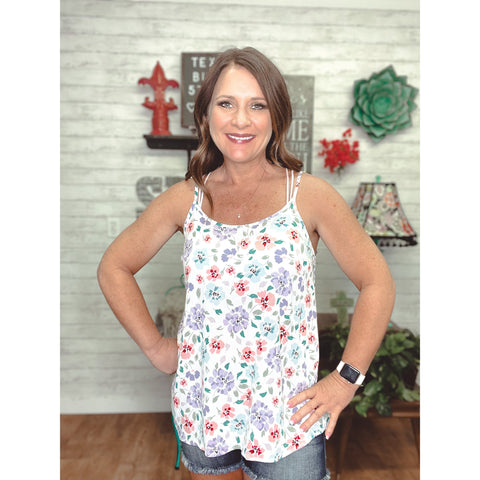 Florence | Sleeveless Shirt - Sandy Bums Boutique