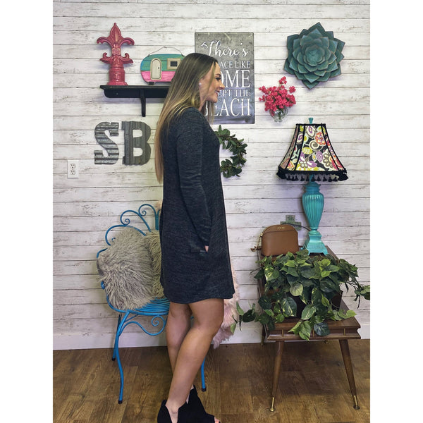 Aaron | Long Sleeve Dress - Sandy Bums Boutique