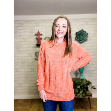Candy   Chenille Sweater