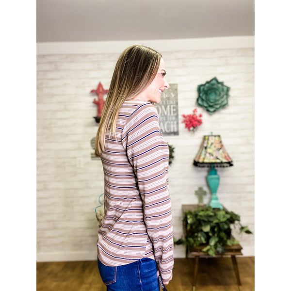 Morgan | Long Sleeve Tunic Top - Sandy Bums Boutique