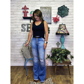 Millicent   Flare Jeans