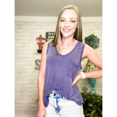 Sally | Vintage Tank Top - Sandy Bums Boutique