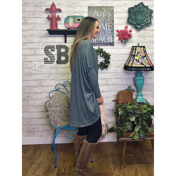 Heather | Long Sleeve Shirt - Sandy Bums Boutique