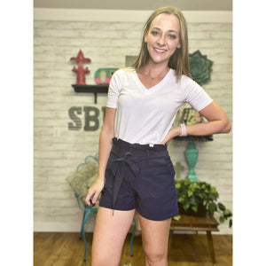 Betsy | Linen Shorts - Sandy Bums Boutique