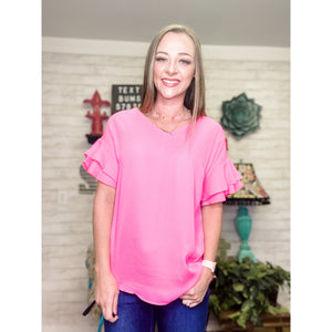 Pink Blouse for Women - Sandy Bums Boutique