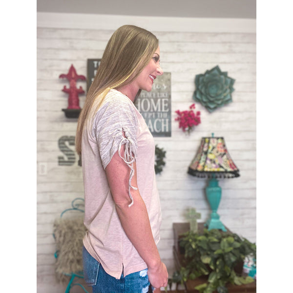Kylie | Short Sleeve Shirt - Sandy Bums Boutique