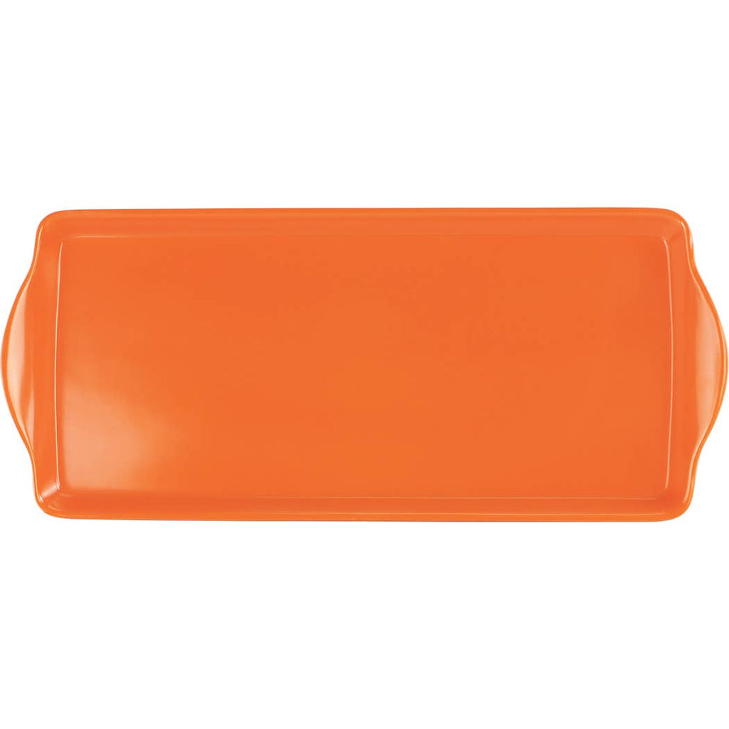 Orange Melamine Tray