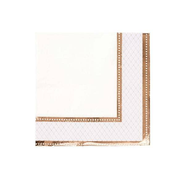 Rose Gold and Pink Napkin