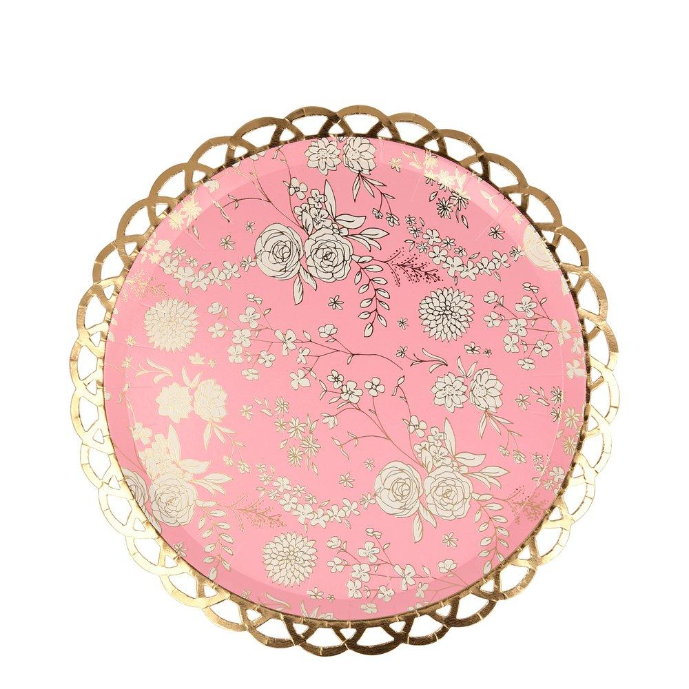 English Garden Lace Side Plates