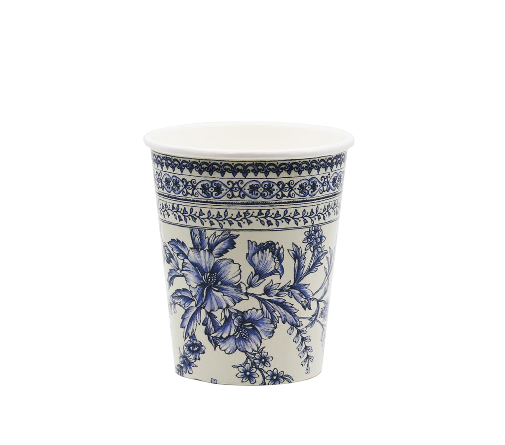 French Floral Cups
