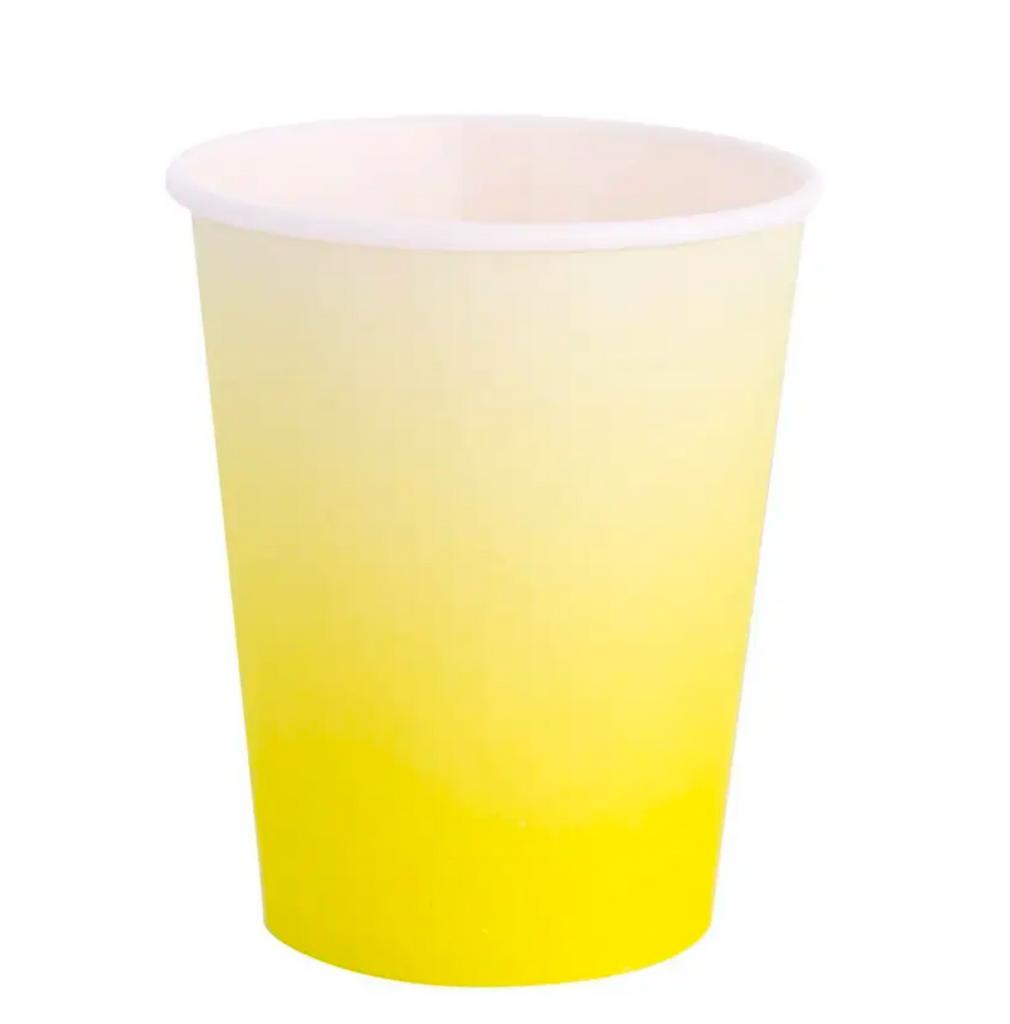 Ombre Chartreuse Cups