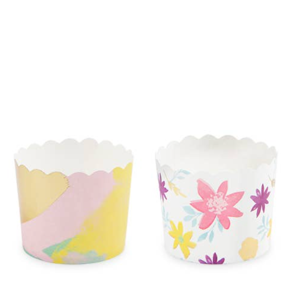 Assorted Floral Treat Cups