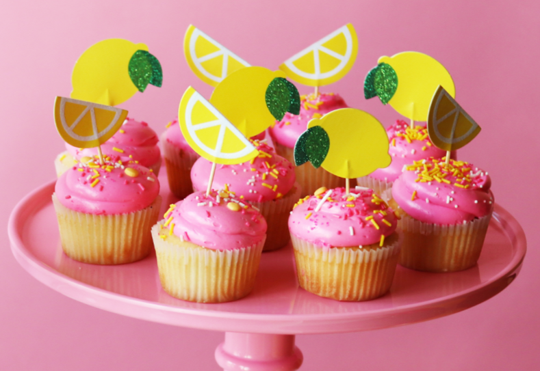 Lemon Mini Toppers