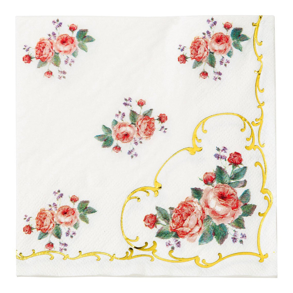 Antique Floral Napkins