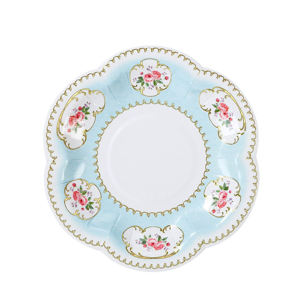 Antique Floral Mini Plates