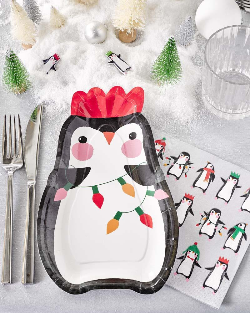 Penguin Shaped Plate