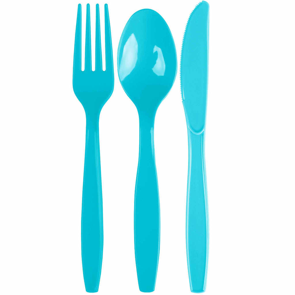 Turquoise Cutlery Set