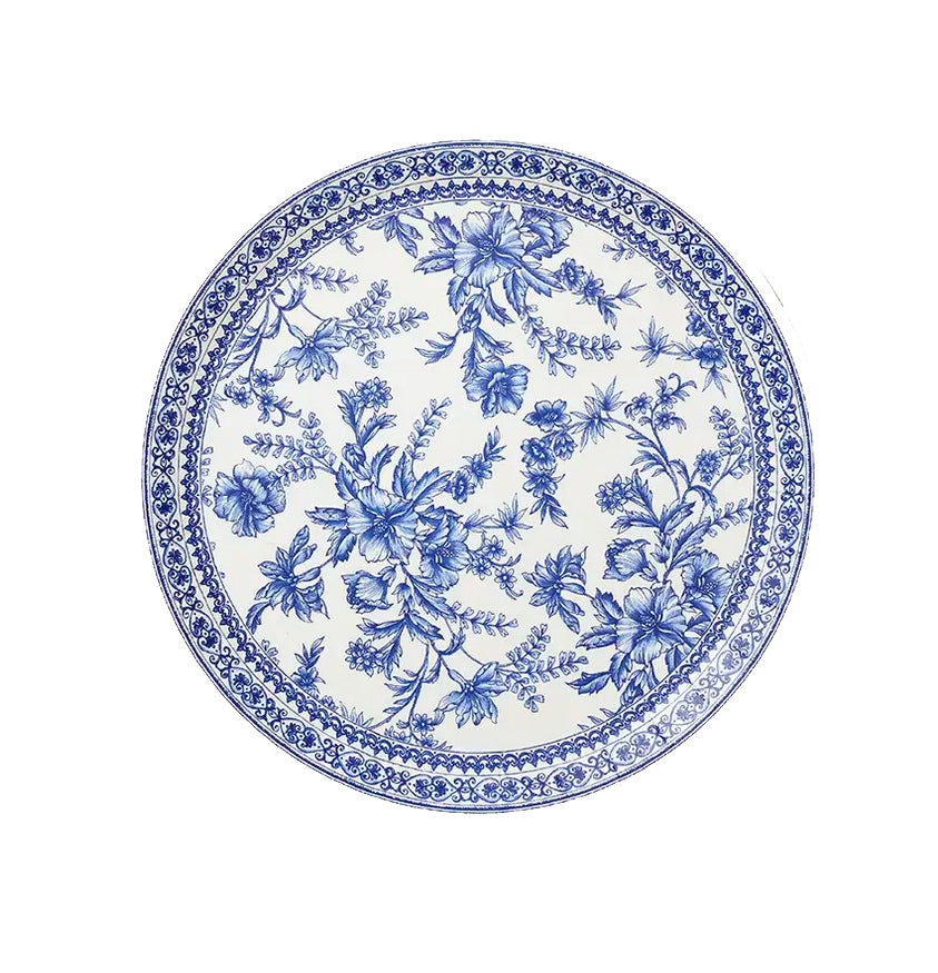 French Floral Large Plates