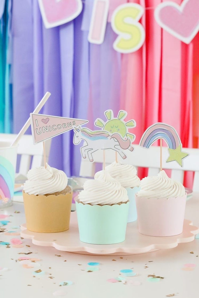 Unicorn Mini Toppers