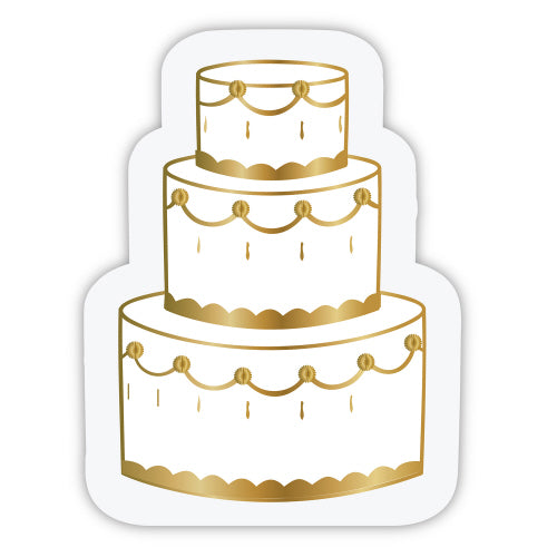 Wedding Cake Napkins