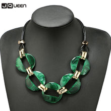 Load image into Gallery viewer, Geometric Pendant Choker Necklace