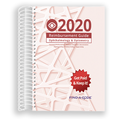 Ophthalmology & Optometry Reimbursement Guide for 2020