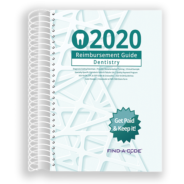 Dentistry Reimbursement Guide for 2020
