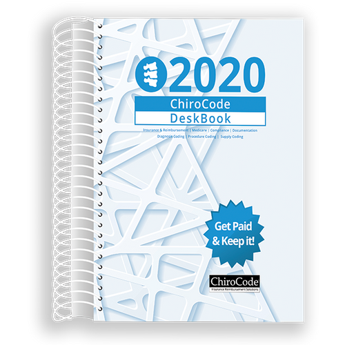 Chiropractic DeskBook for 2020 by ChiroCode