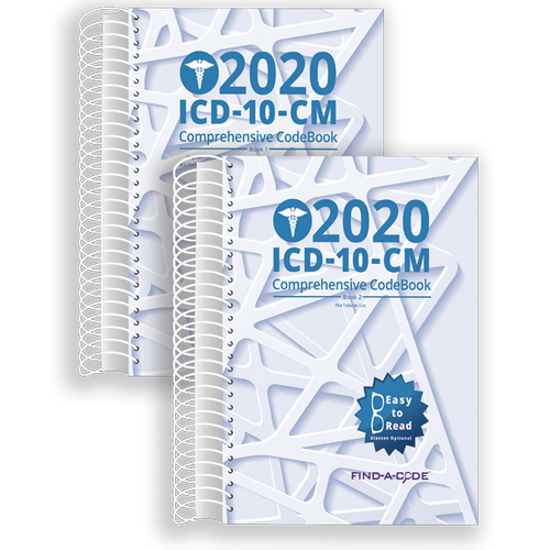 ICD-10-CM Comprehensive CodeBook for 2020