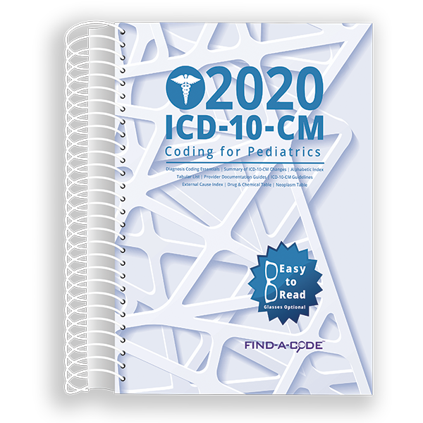 Pediatrics ICD-10-CM Coding for 2020
