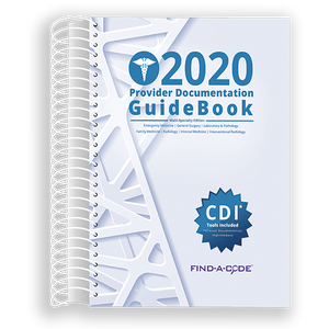 Multi-Specialty Provider Documentation GuideBook for 2020