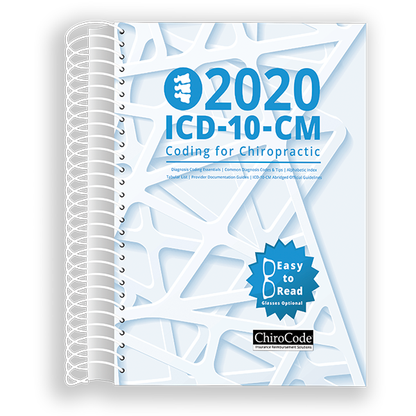 Chiropractic ICD-10-CM Coding for 2020 by ChiroCode