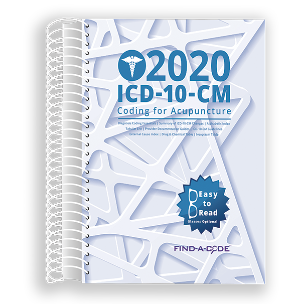 Acupuncture ICD-10-CM Coding for 2020