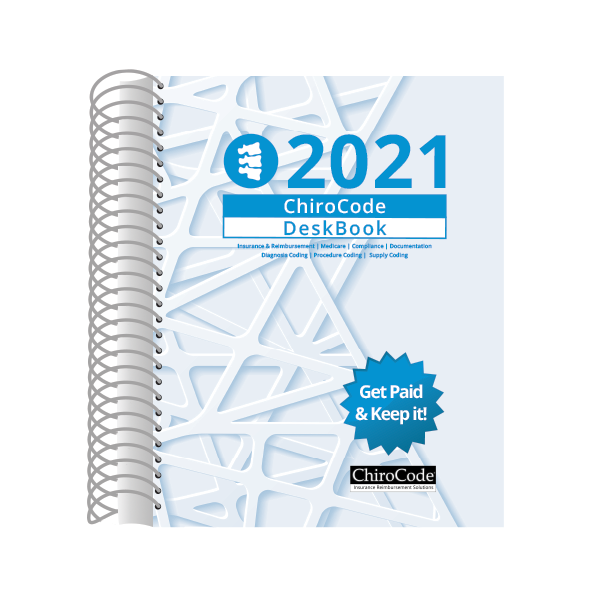 Chiropractic DeskBook for 2021 by ChiroCode